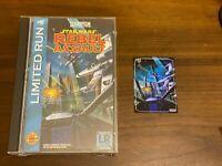 Limited Run Games Star Wars Rebel Assault Classic Edition Sega CD w/Trading Card