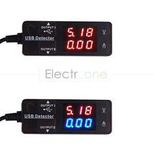 LED Digital USB Charger Doctor Voltage Current Meter Tester Power Detector
