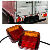 2x 12V LED Feux de recul arrière allume lumière lampe Indicateur remorque camion
