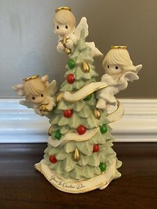 Precious Moments Figurine & Angel Ornament Limited Edition 2 Piece Set - New!