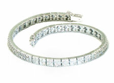 3.93ctw Diamond Tennis Bracelet In 18kt White Gold