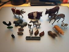 More details for vintage unmarked & britain's metal /lead farm animals etc 20 in total