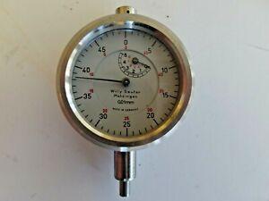 Willy Sauter  Feinmessuhr Messuhr 0,01mm