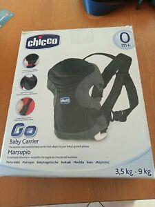 CHICCO GO Baby Carrier Marsupio Fucsia Bambini e Neonati MAI USATO 3.5-9KG