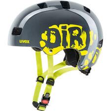 Uvex Kinder BMX Skate Fahrradhelm Kid 3 dirtbike gray-lime 55-58 cm