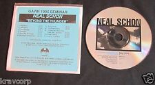 NEAL SCHON 'BEYOND THE THUNDER' 1995 PROMO CD