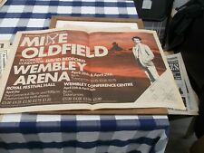 MIKE OLDFIELD (JOHN PEEL) BUNDLE X3 OF POSTERS FOR  FRAMING