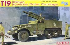 Dragon 1/35 6496 WWII US T19 105mm Howitzer Motor Carriage Half-Track