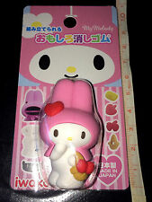 "IWAKO Japan EXCLUSIVE ""My Melody"" Puzzle Take-Apart Rubber Eraser PINK"