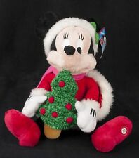 Disney Animated Minnie Mouse Sing Light Up Musical Christmas Plush SEE VIDEO