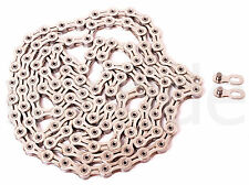 KMC X10SL 10 Speed 114 links bike Chain w/ Missing Link Silver for Shimano Sram