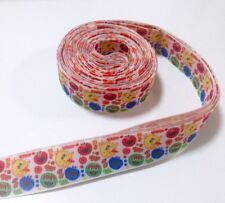 YARD SESAME STREET FURCHESTER HOTEL ELMO COOKIE MONSTER GROSGRAIN RIBBON #92