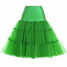 "26"" Retro Underskirt 50s Swing wedding Petticoat Rockabilly Tutu Fancy Net Skirt"