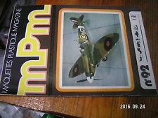 1µ?a Revue MPM Maquette pastique n°92 Spad VII Fokker D-VIII Smith & Wesson