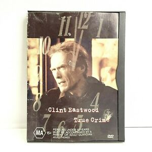 True Crime - 1999 Mystery Thriller Clint Eastwood - Rare Snapcase Cover R4 DVD