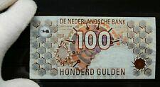 Banknoten Holland/Niederlande 100 Gulden 1992 P 101 Watermark Steineule Top