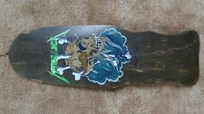 Metallica Zorlac Skate Board Deck Excellent Condition Vintage 1988