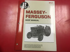 Massey Ferguson I&T Tractor Service Shop Repair Manual 135 150 165 Mf27
