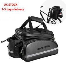 RockBros Bike Rear Rack Storage Trunk Pannier Bag Waterproof Pack 20L UK STOCK