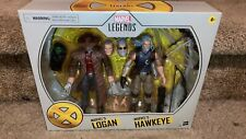 Hasbro Marvel Legends OLD MAN LOGAN & HAWKEYE 2 Pack Anniversary Set NIB