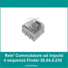 RELE/' COMMUTATORE PERRY TIPO FINDER 4 SEQUENZE FINDER STEP RELAY TELERRUPTOR