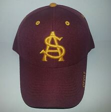 Arizona State Sun Devils Adjustable Back 3D Embroidered Hat a58227d88ce8