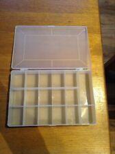Storage Box Hard Plastic Compartment Slot Plastic Craft Organizer