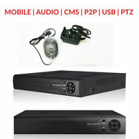 Smart CCTV DVR 4/8/16 Channel AHD Camera System 2MP/5MP Video Recorder 2K UHD UK