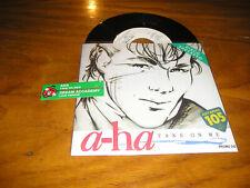 "A-HA / Dream Academy - TAKE ON ME rare italian DJ special cover vinyl 7"""