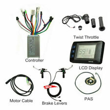 48V 1000w Ebike LCD Display + Controller +  Twist Throttle For Electric Bicycle