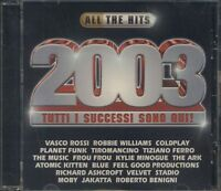 All The Hits 2003 - Vasco Rossi/Coldplay/Tiziano Ferro/Planet Funk Cd Sigillato