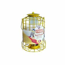 Kingfisher BF007S Squirrel Guard Seed Feeder - Yellow