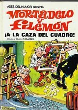 ases del humor nº 13  MORTADELO: ¡A la caza del cuadro!  Bruguera, 1971