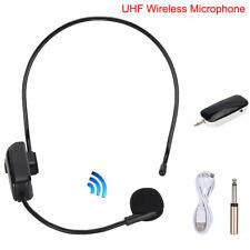 UHF Wireless Headset Microphone Megaphone Radio Mics for Conference Speech Sale
