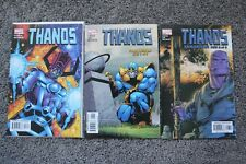 Thanos #3 7 8 (2003) HTF + Avengers and the Infinity Gauntlet 1 2 (2010)