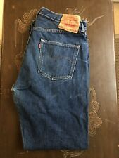 Levis LVC 1966 501XX Jeans 34 X 30 Big E  Selvedge Denim Shrink To Fits