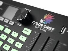 EUROLITE DMX LED Color Chief Controller Lichtsteuerung Lichtpult USB VIDEO