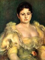 PIERRE AUGUSTE RENOIR MME STEPHEN PICHON OLD MASTER ART PAINTING PRINT 2453OMA