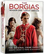 The Borgias - Season One - Uncut Edition (DVD 3 disc) NEW