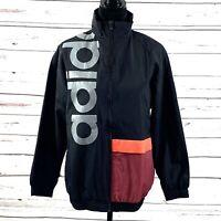 Adidas Women's New Authentic Track Jacket Black Size Large NWT