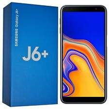 New Samsung Galaxy J6+ Plus (2018) SM-J610FN 32GB Black Factory Unlocked 4G GSM
