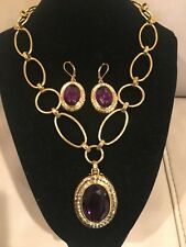 """QVC Joan Rivers 14K Yellow Gold Over Easy Elegance 18.50"""" Necklace with Pendant"""