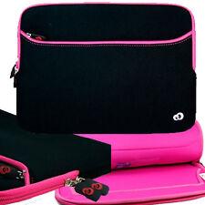 "13"" Pink Soft Neoprene Sleeve Pocket Case for Toshiba 13.3"" KIRAbook 13 Laptop"