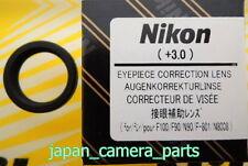 Nikon F100/F90/F801/N90/N8008 F6,F5,F4,F3HP,F3T Diopter lens +3