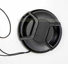 TAPPO COPRIOBIETTIVO FRONTALE 77 mm CANON NIKON COMPATIBILE + LACCETTO LENS CAP