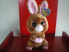 Ty Beanie Boos HOPSON the rabbit 6 inch NWMT. Retired  & hard to find.
