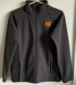 Boy's Bear Grylls by Craghoppers Soft Shell jacket. Charcoal. Age 13yrs.