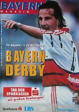 Programm 1998/99 FC Bayern München - FC Nürnberg