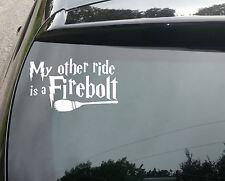 Firebolt Harry Potter LARGE Car/Window JDM VW EURO DUB DRIFT Vinyl Decal Sticker