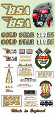 1971: B25SS - DECAL SET- BSA Gold Star